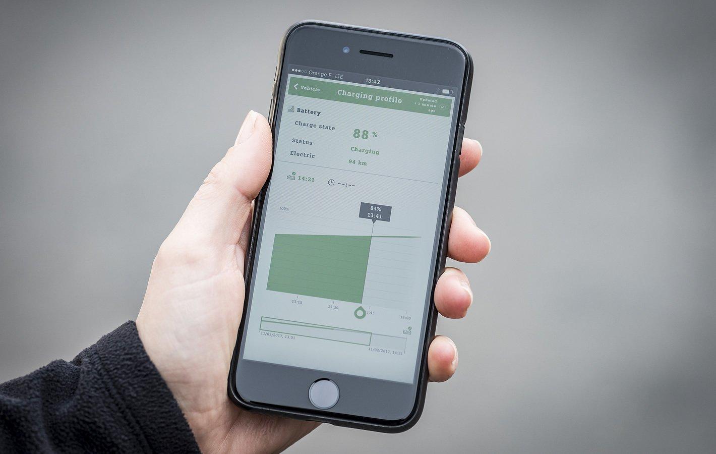 smart forfour EQ - aplikacja smart EQ