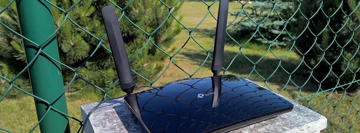 domowy router LTE