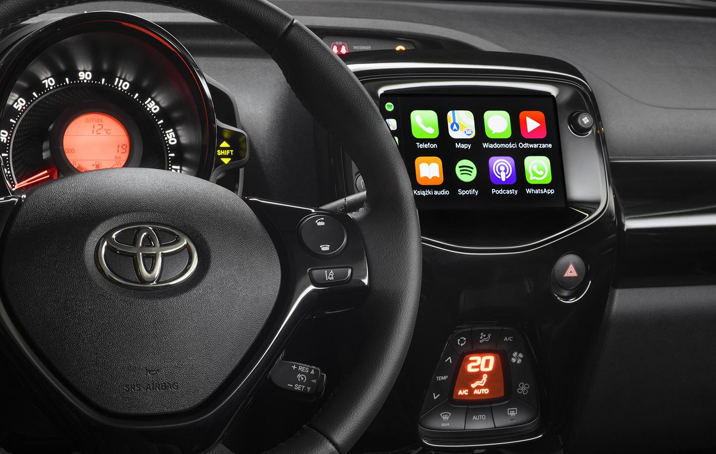 Toyota Aygo 2018 - Apple CarPlay
