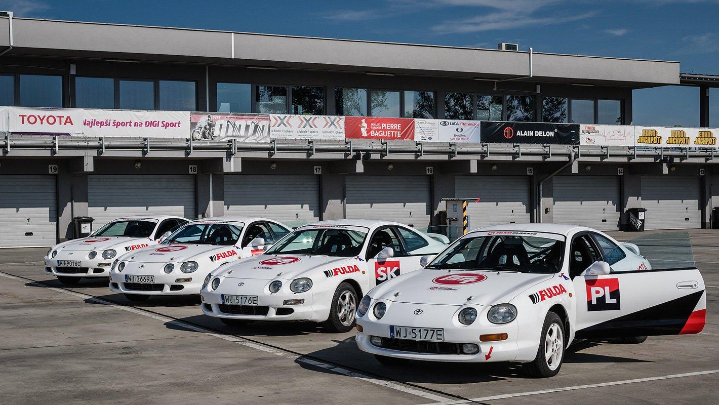 Toyota Media Cup Race Challenge - Toyota Celica