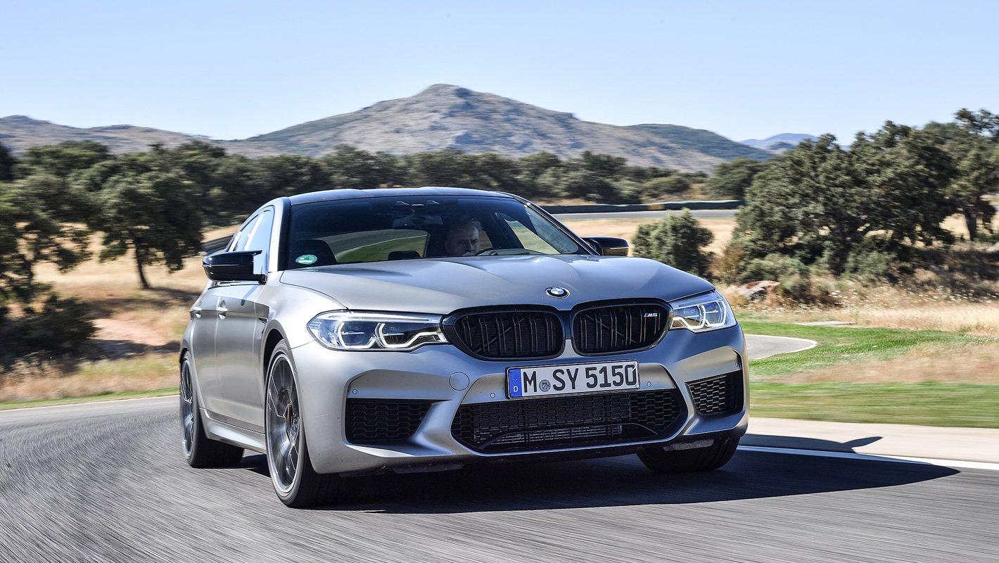 BMW M5 Competition - zwinne auto
