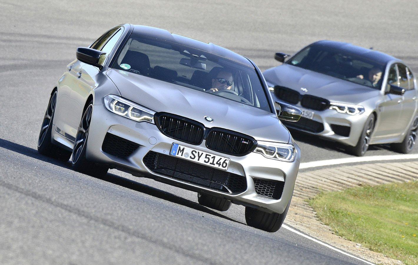 BMW M5 Competition - test na torze wyścigowym