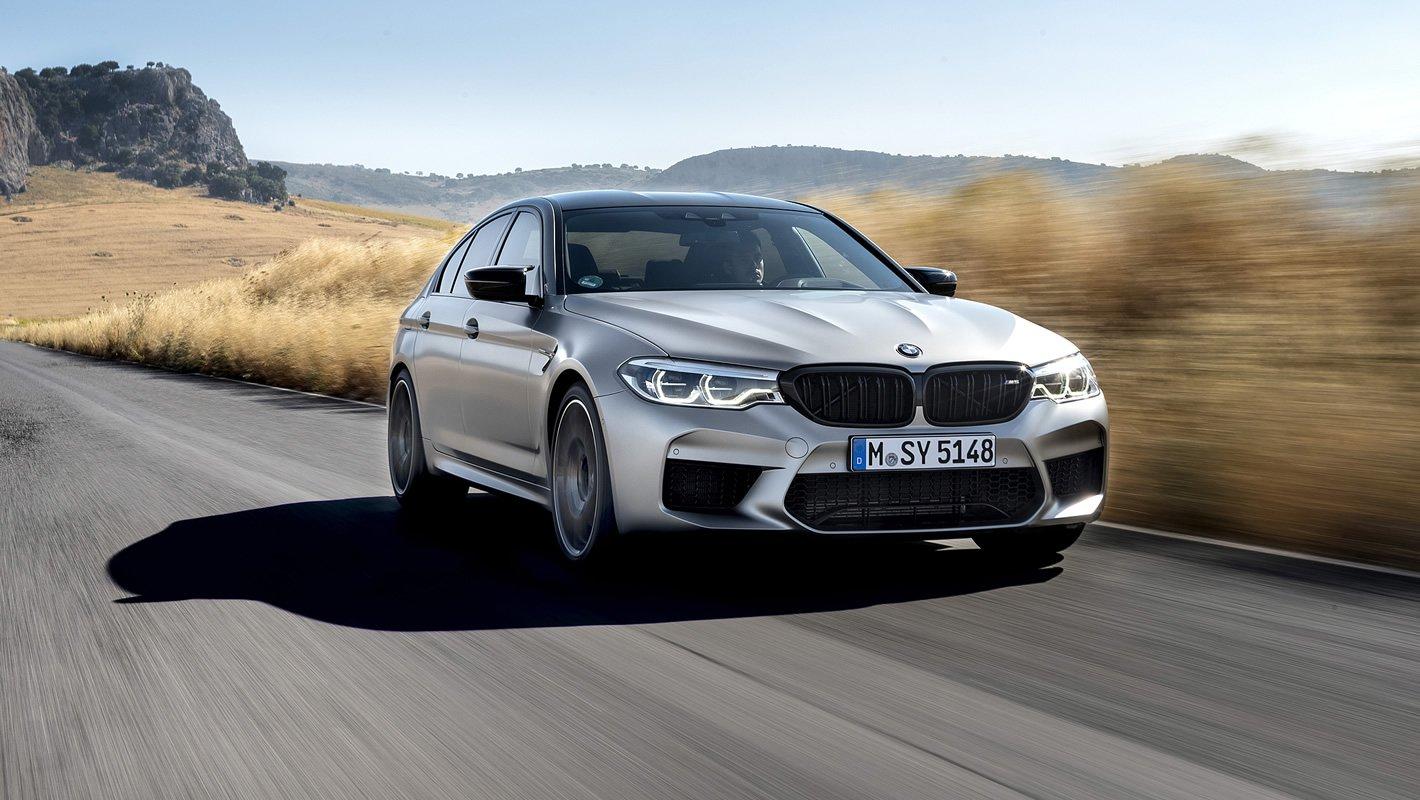 BMW M5 Competition - napęd M xDrive