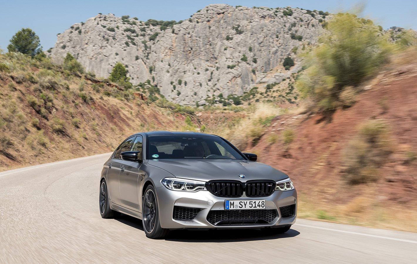 BMW M5 Competition - na krętej drodze