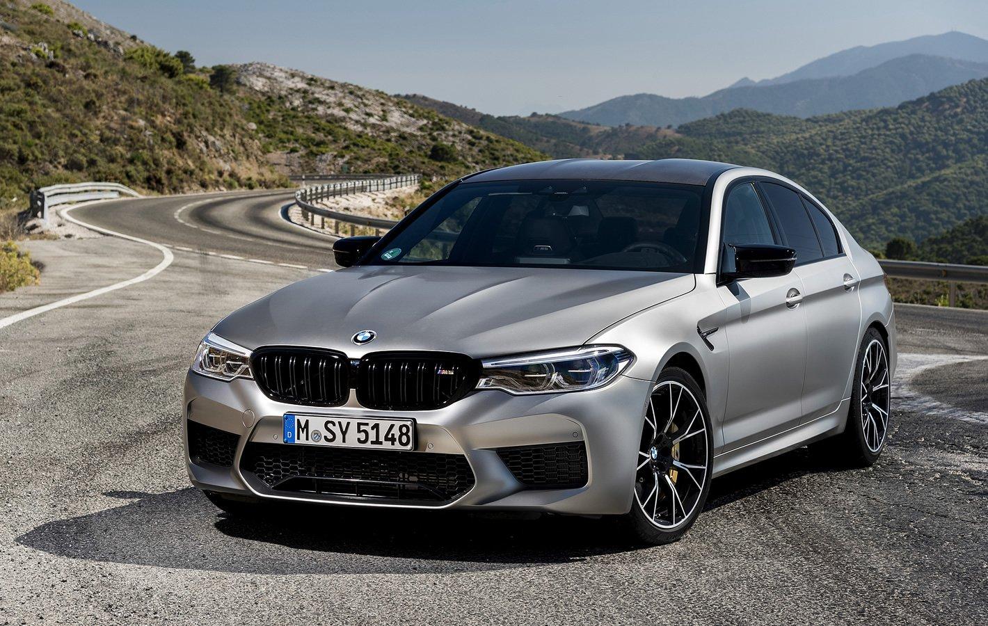 BMW M5 Competition - świetne zawieszenie