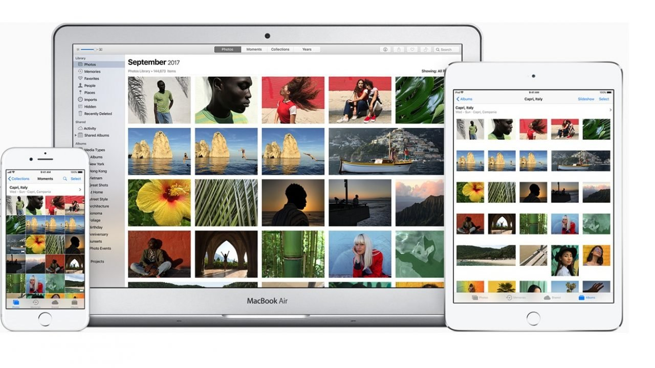 zdjęcia google vs zdjęcia od Apple