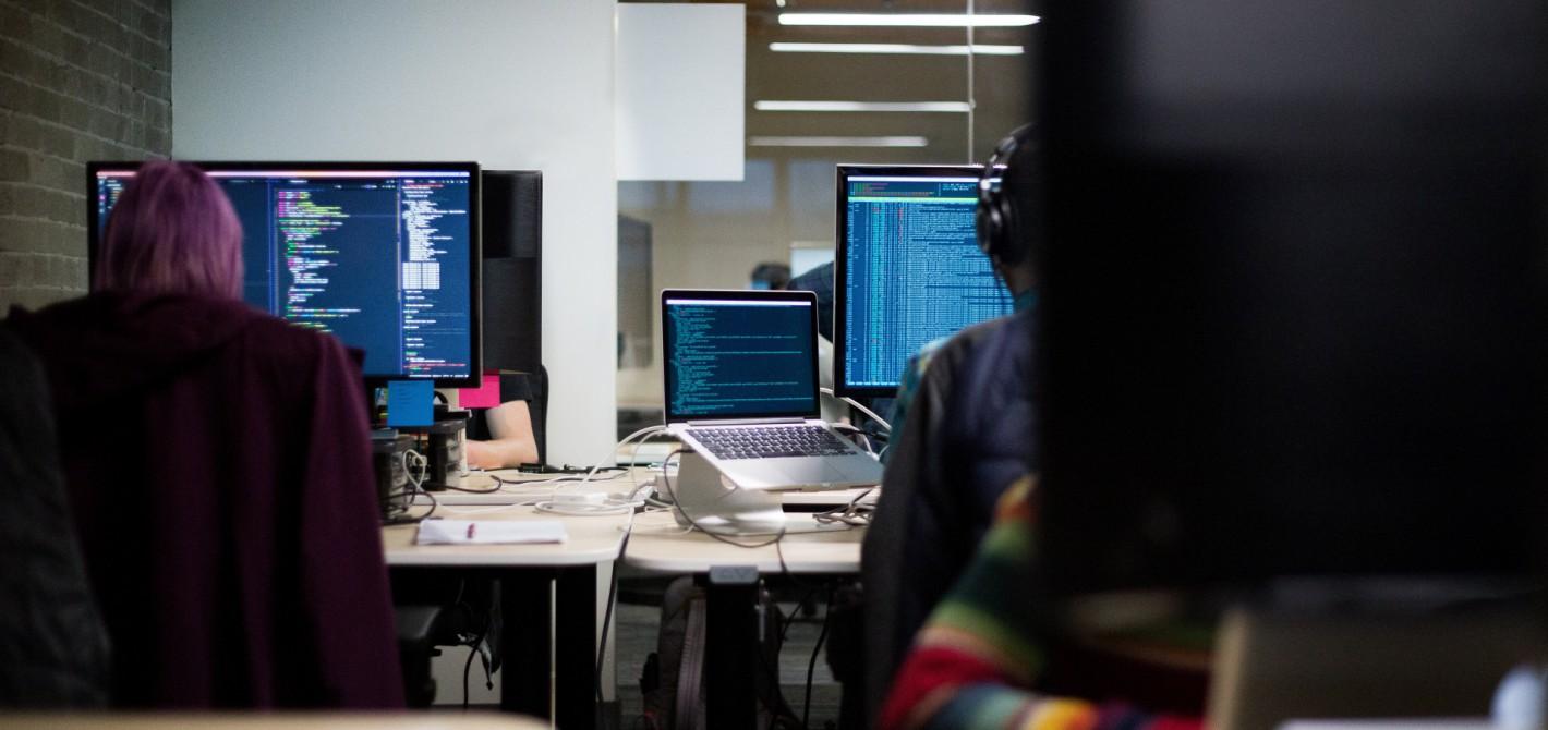 software oczami pracowników