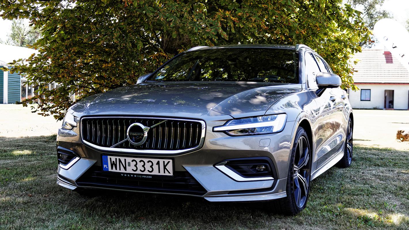 Volvo V60 - systemy bezpieczeństwa