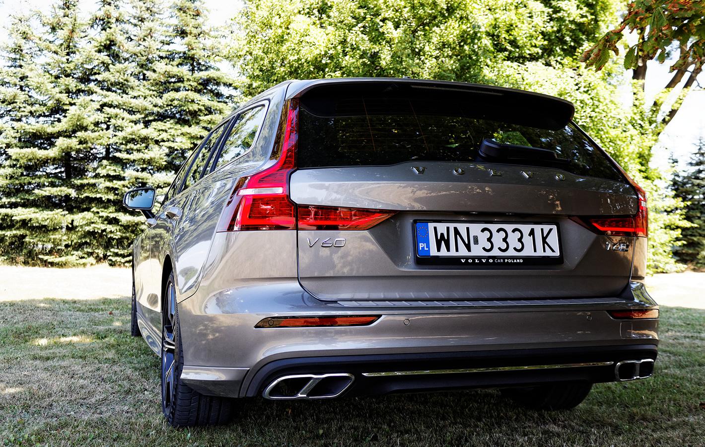 Volvo V60 - zużycie paliwa wersji T6 AWD