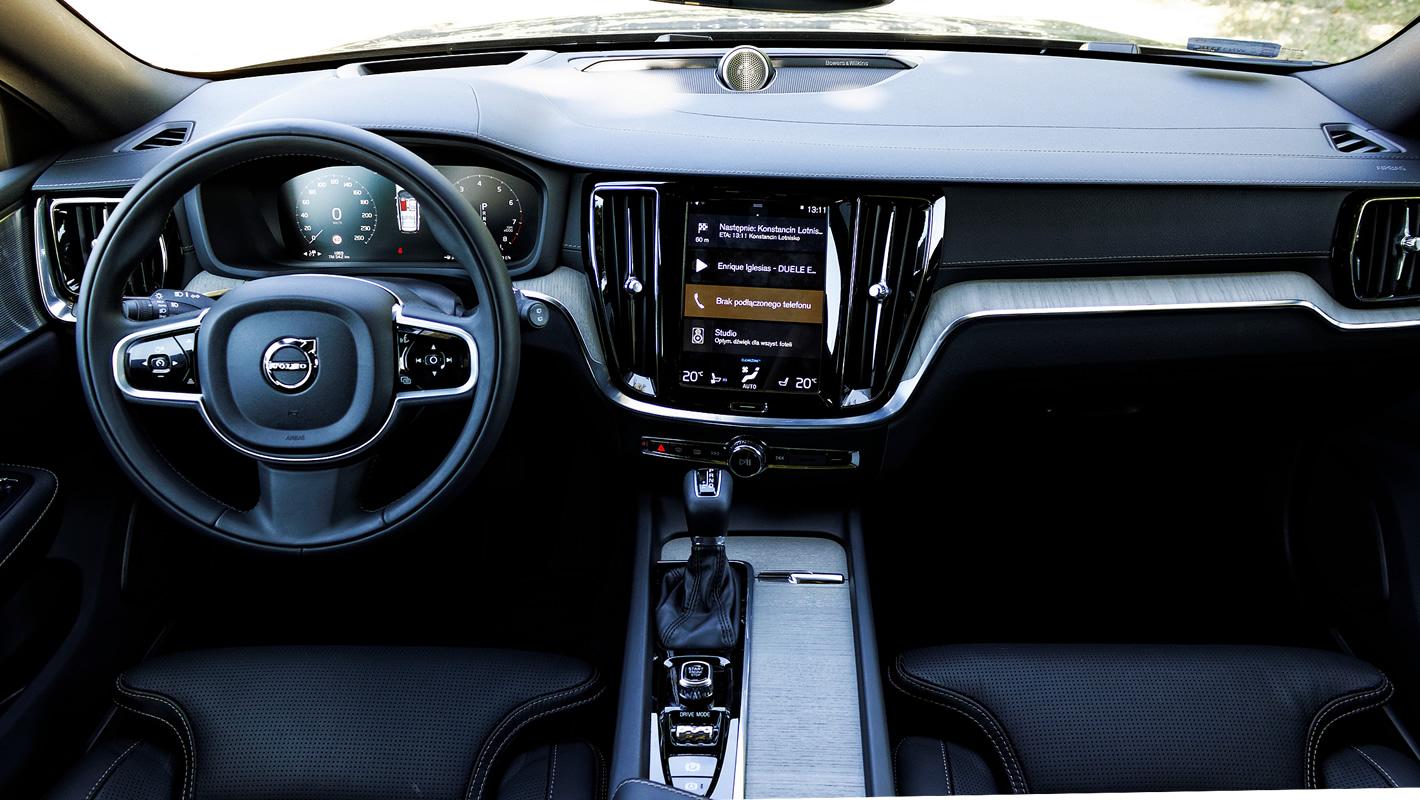 Volvo V60 - kokpit