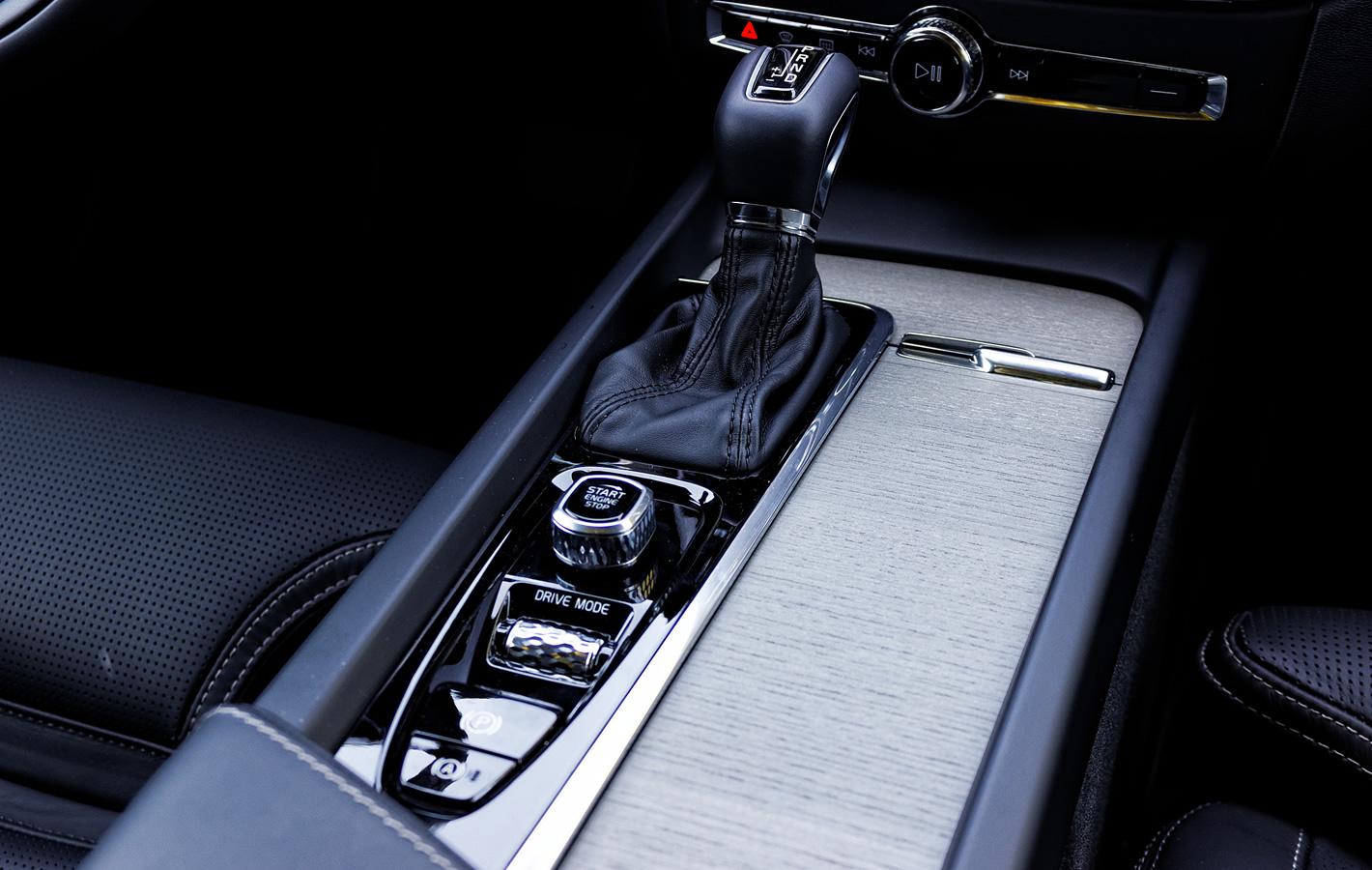 Volvo V60 - wykończenie wnętrza