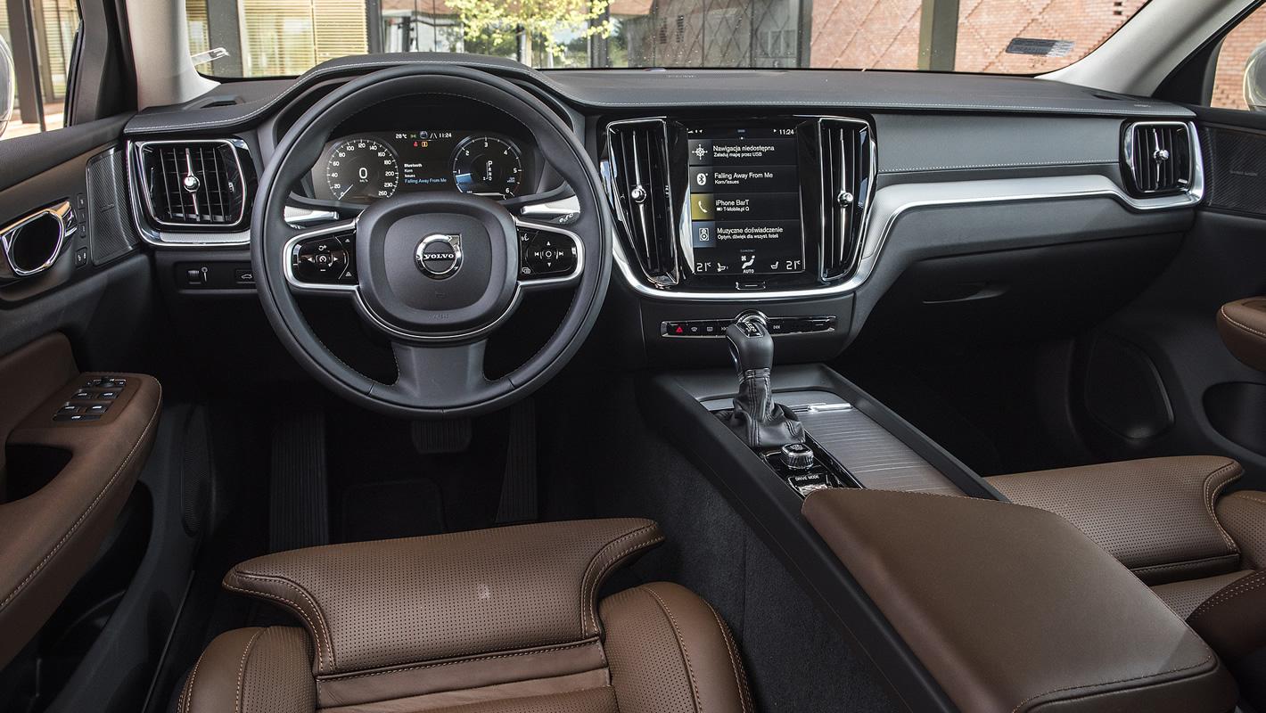Volvo V60 - wnętrze