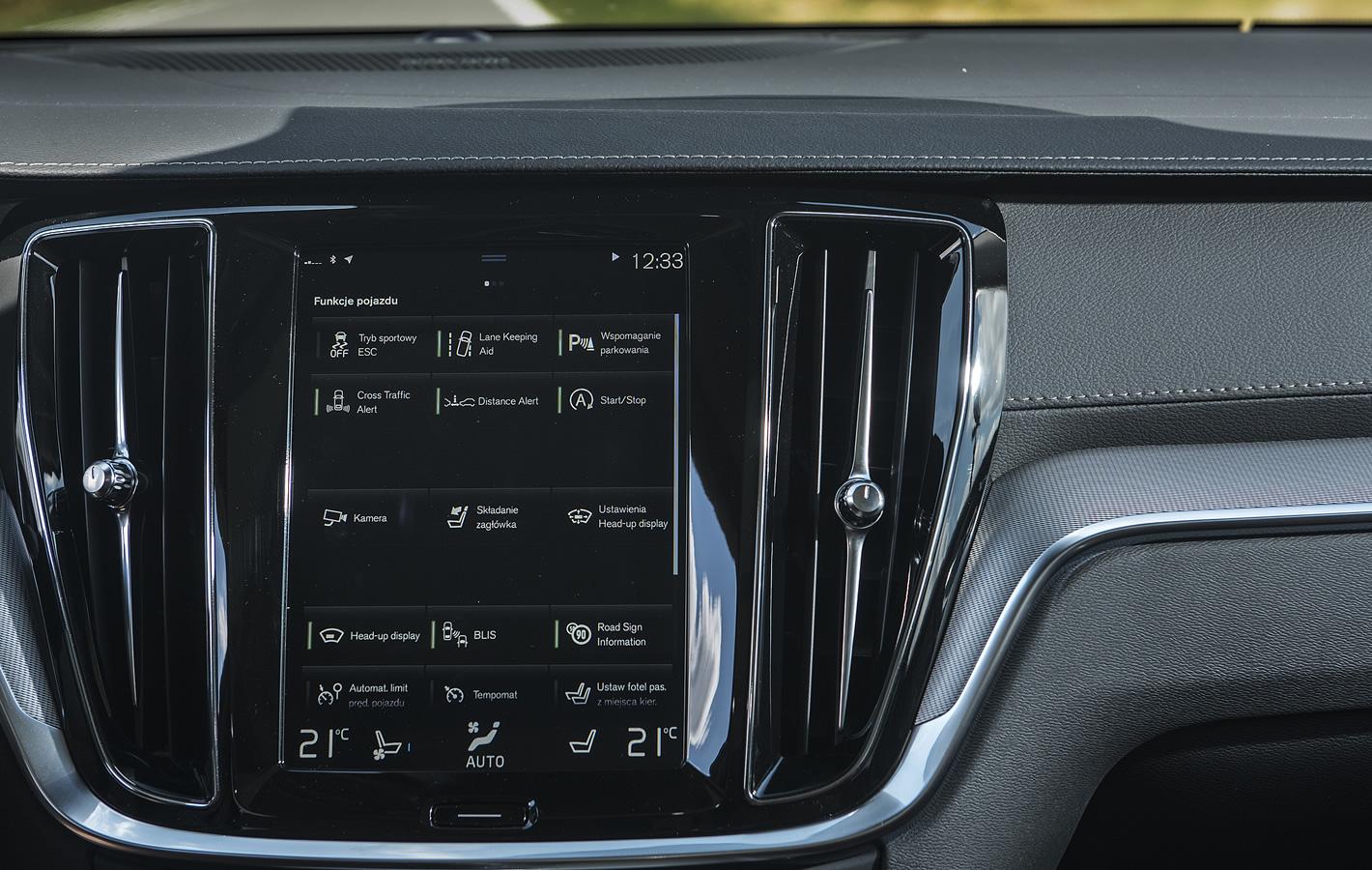 Volvo V60 - dostępne systemy bezpieczeństwa i wsparcia kierowcy