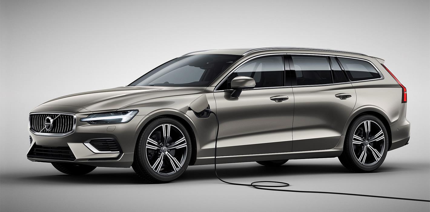 Volvo V60 - wersje hybrydowe będą dostępne później