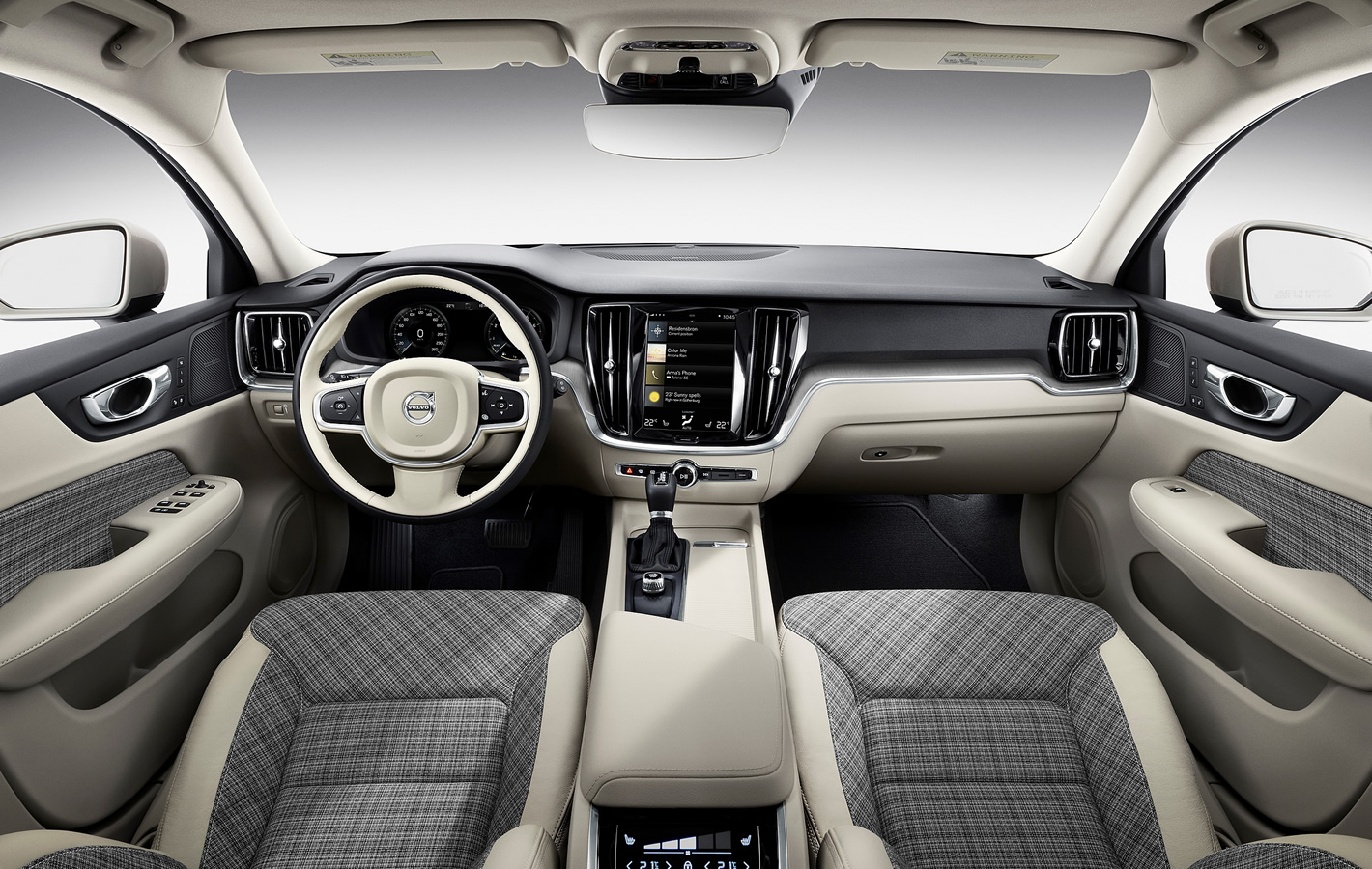 Volvo V60 - kraciasta tapicerka