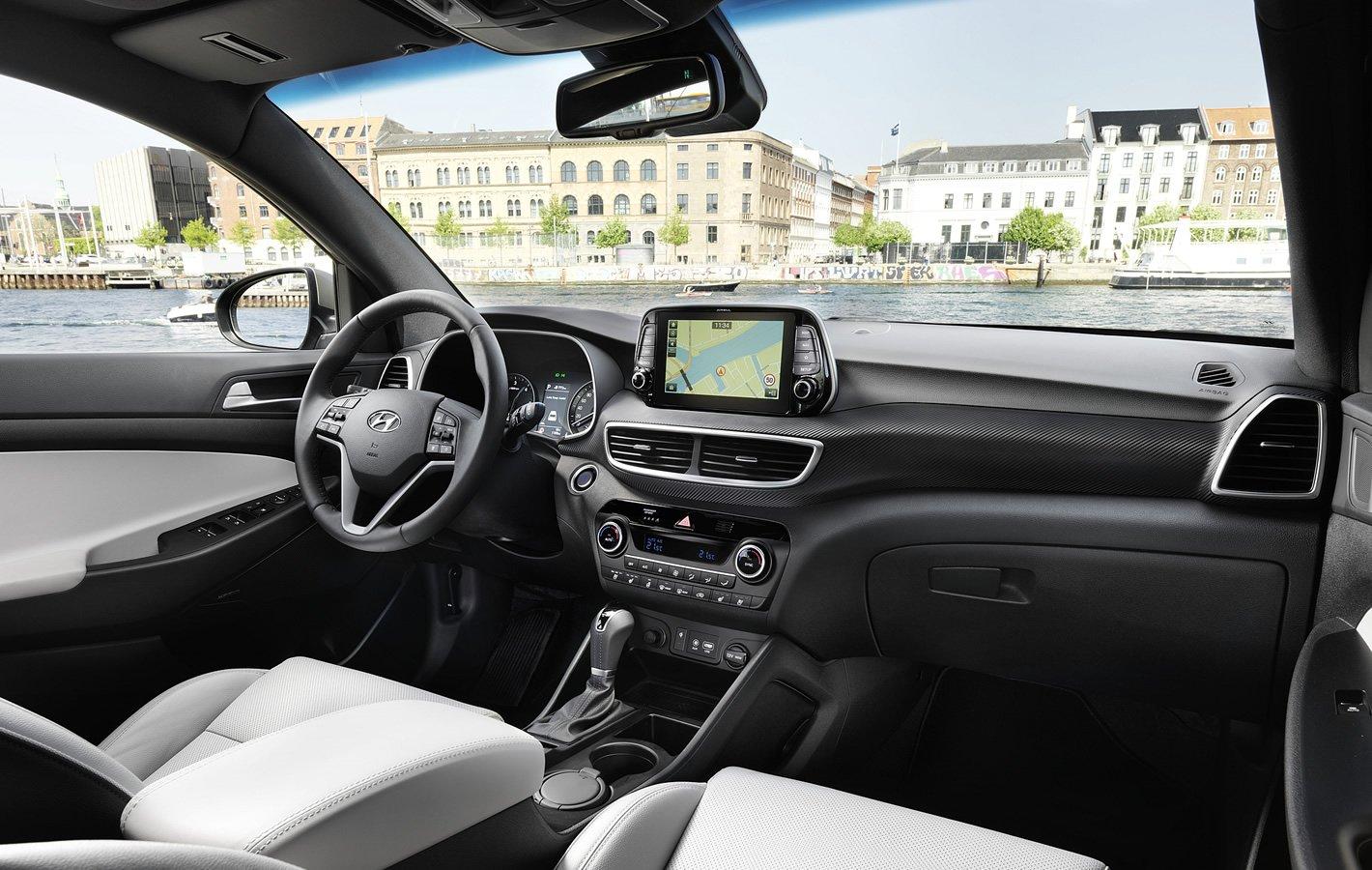 Hyundai Tucson - wnętrze