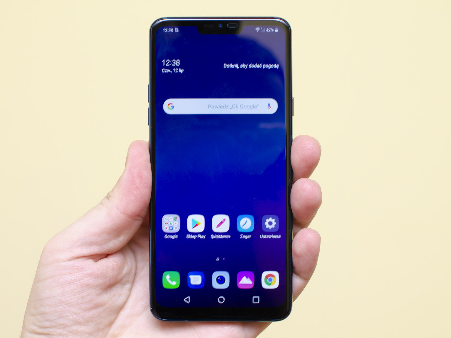 LG G7 ekran display IPS