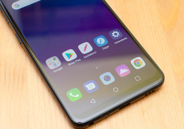 LG G7 interfejs ekran
