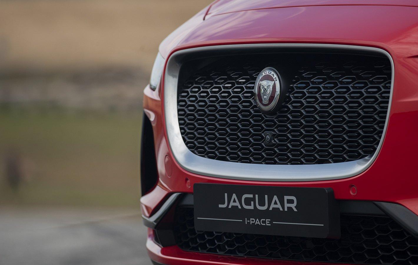 Jaguar I-Pace - przednia atrapa