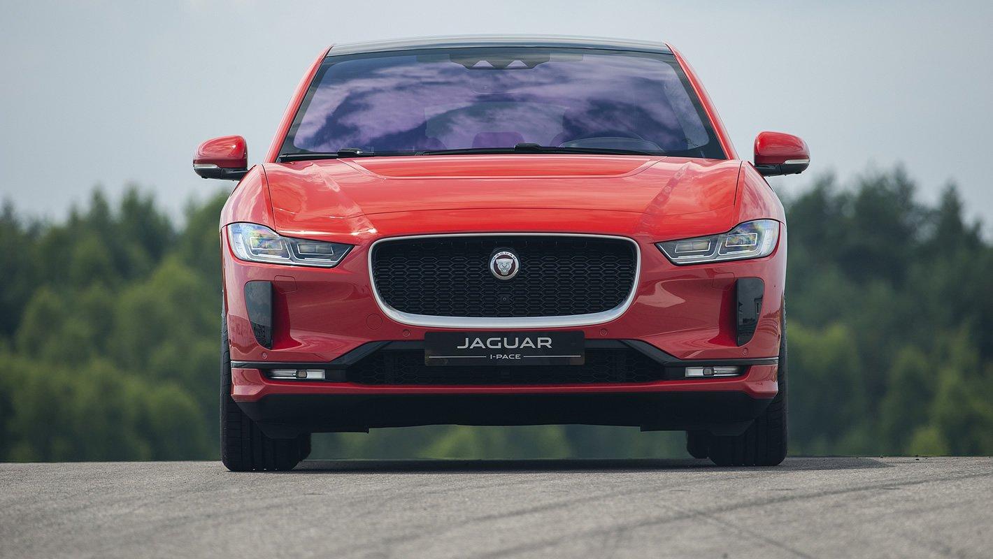Jaguar I-Pace z przodu