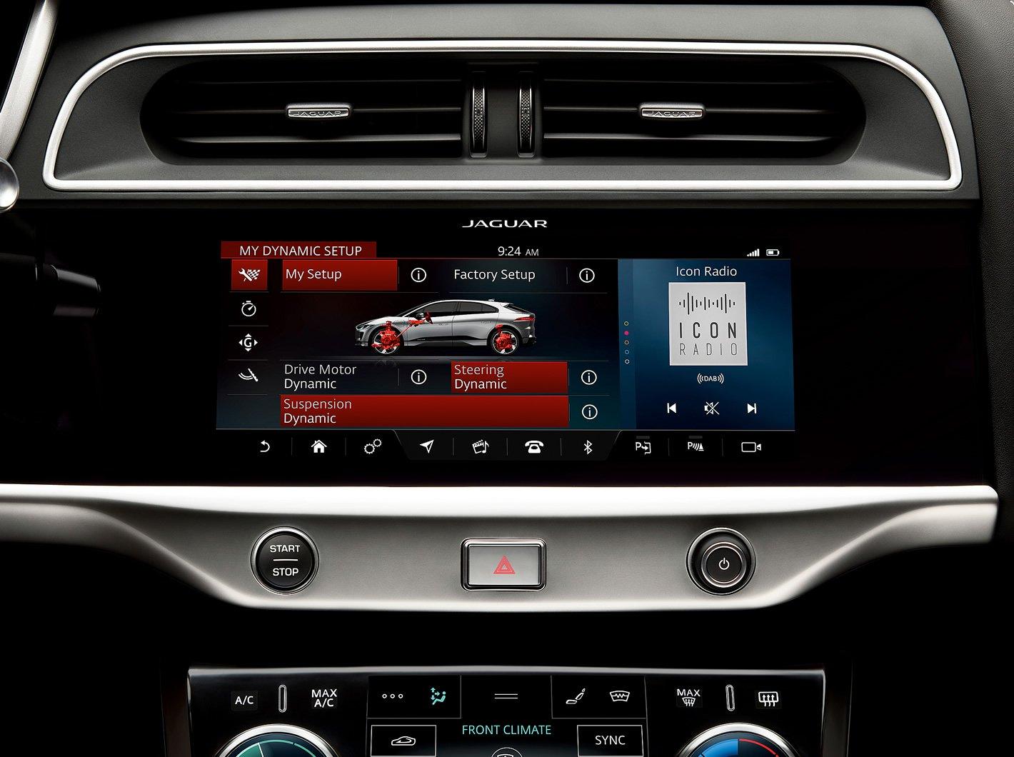 Jaguar I-Pace - system multimedialny