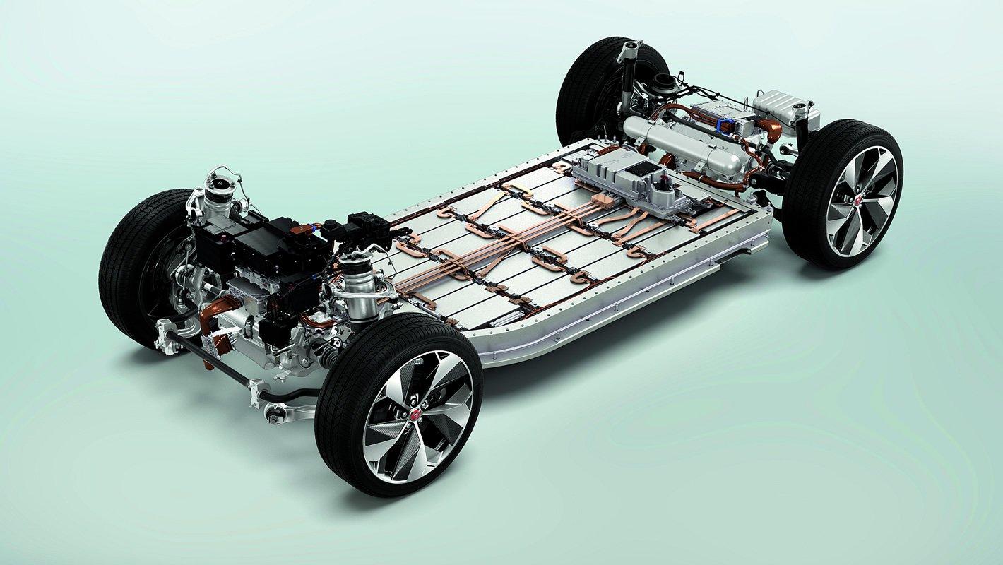 Jaguar I-Pace - akumulatory