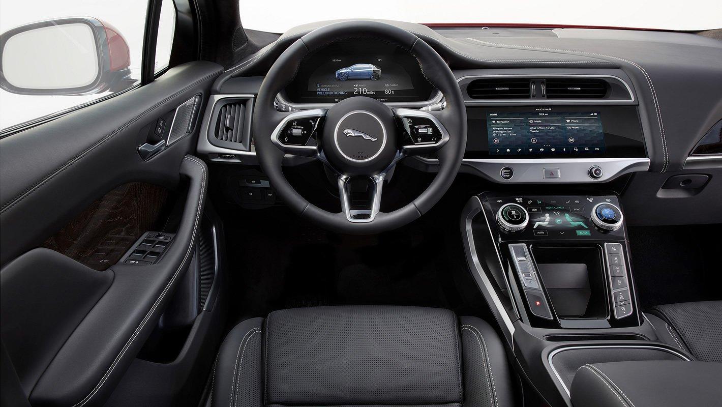 Jaguar I-Pace - wnętrze
