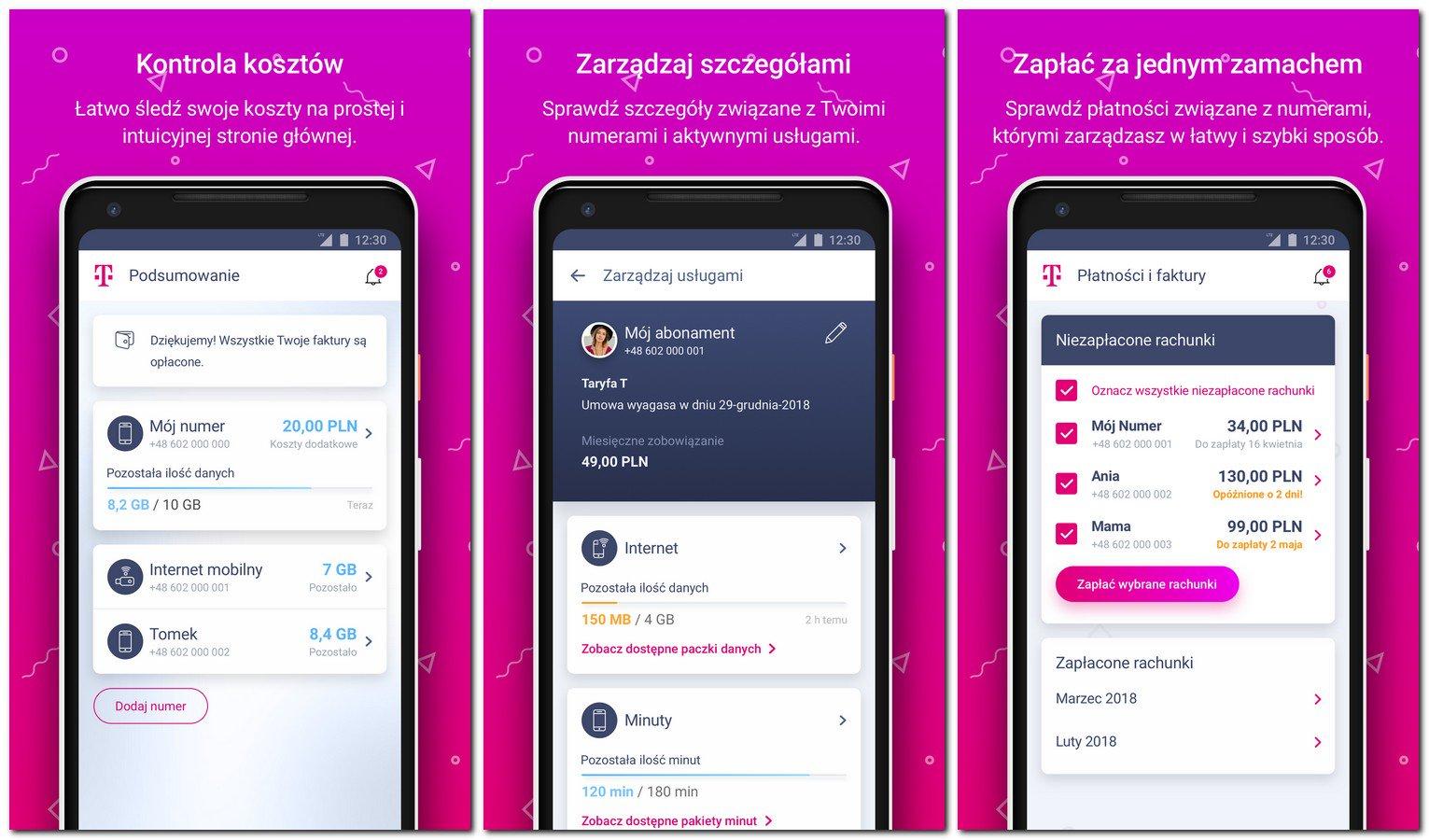 Mój T-Mobile - nowa wersja