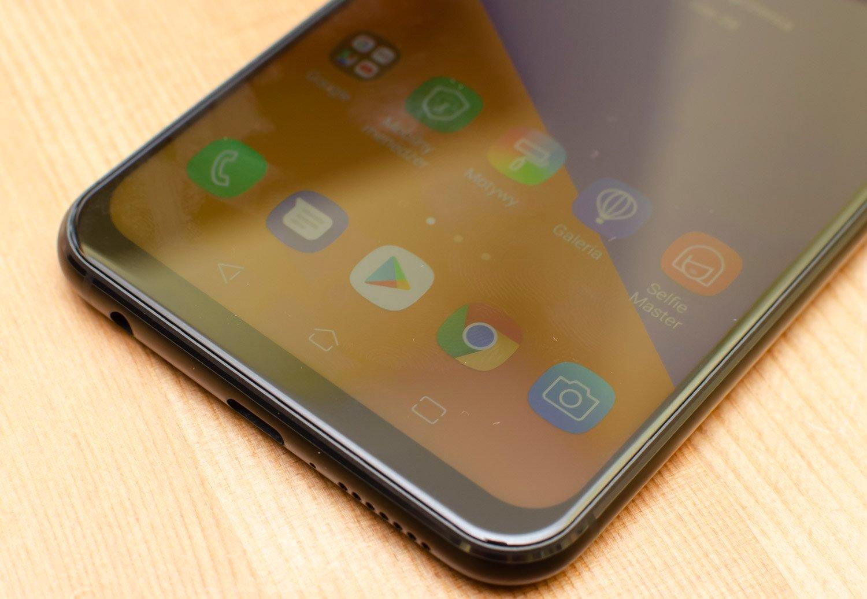 Zenfone 5 przyciski bok cienki
