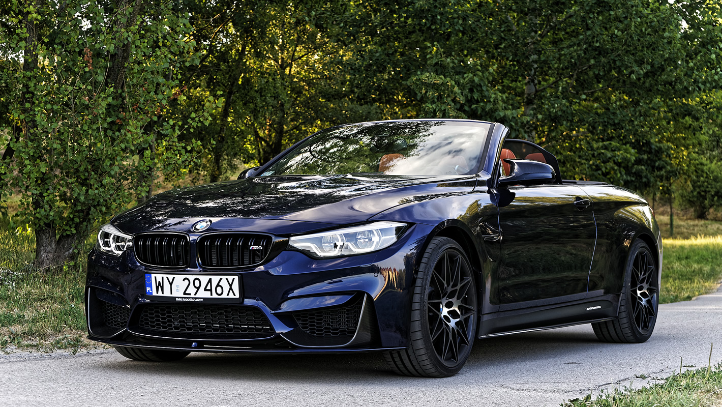 BMW M4 Competition Cabrio - opinia