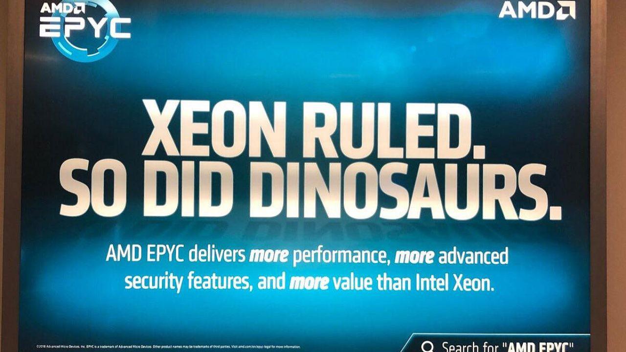 AMD Epyc Zen2 reklama