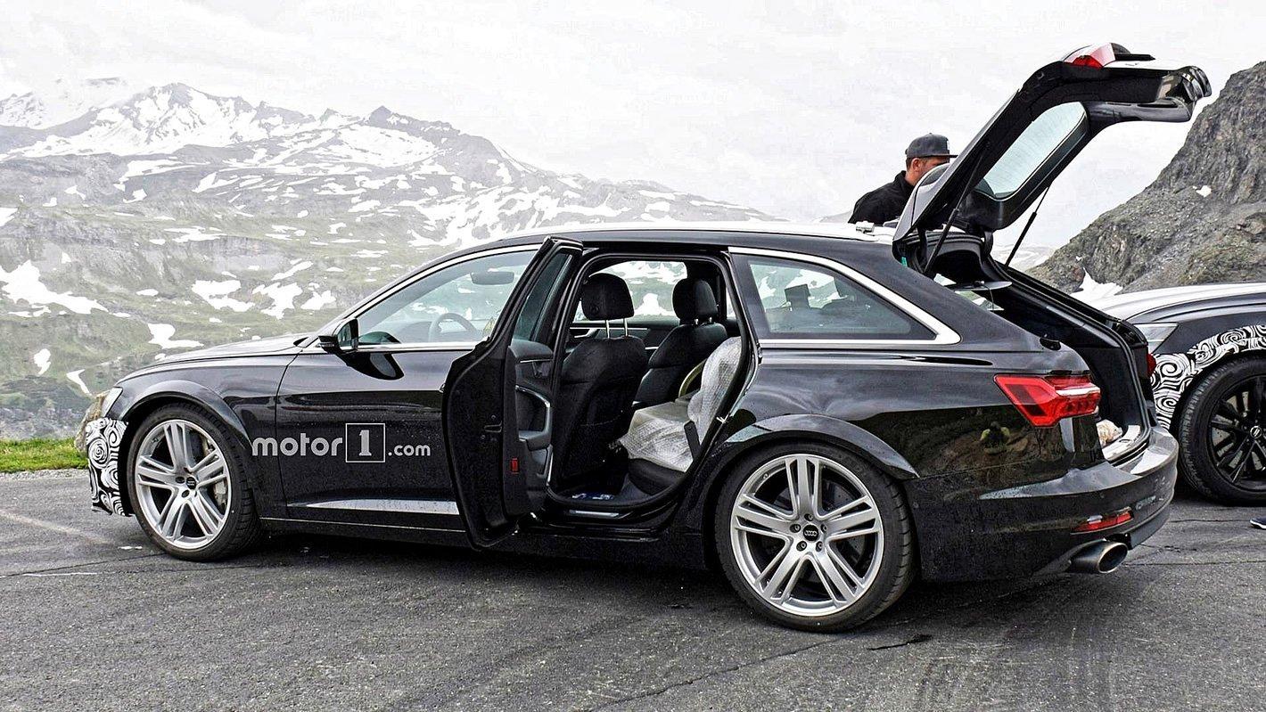 Audi RS 6 Avant 2019 - z boku