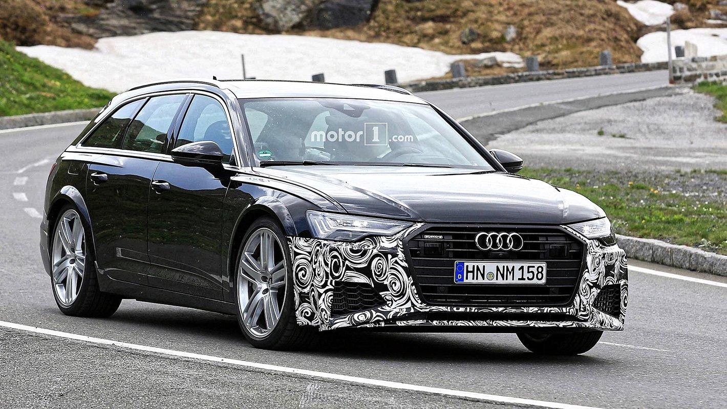 Audi RS 6 Avant 2019 - zdjęcia szpiegowskie
