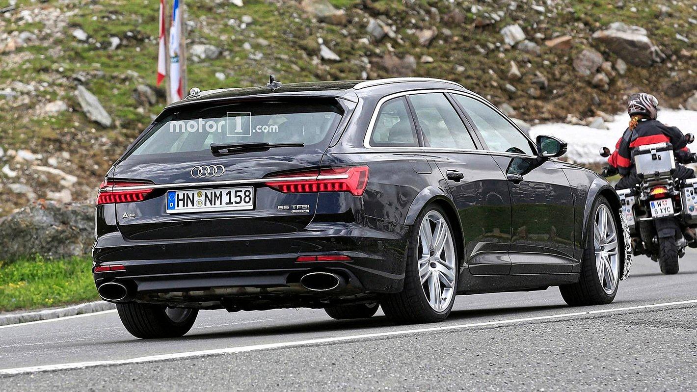 Audi RS 6 Avant 2019 z tyłu