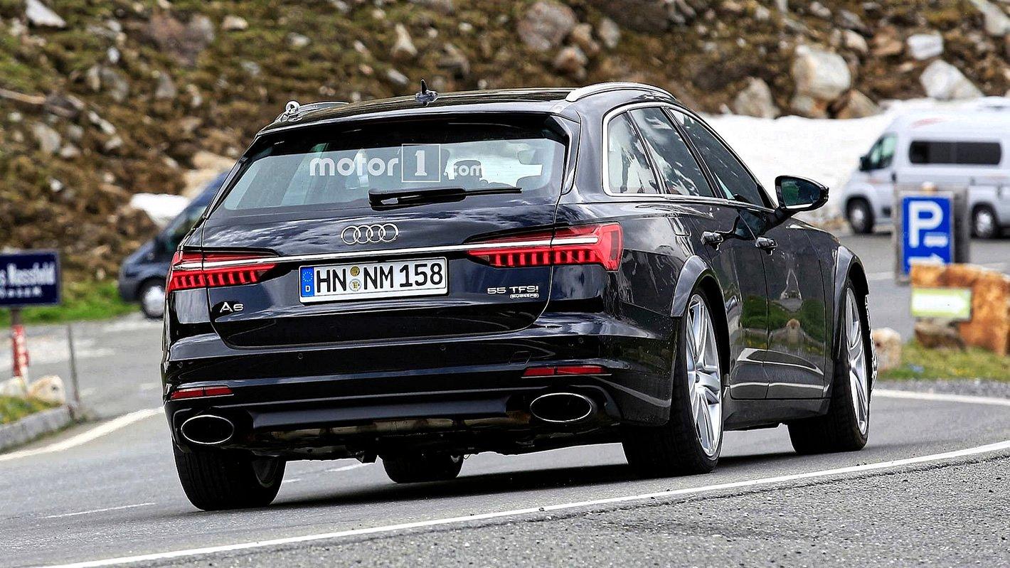 Audi RS 6 Avant 2019 - dwie końcówki wydechu