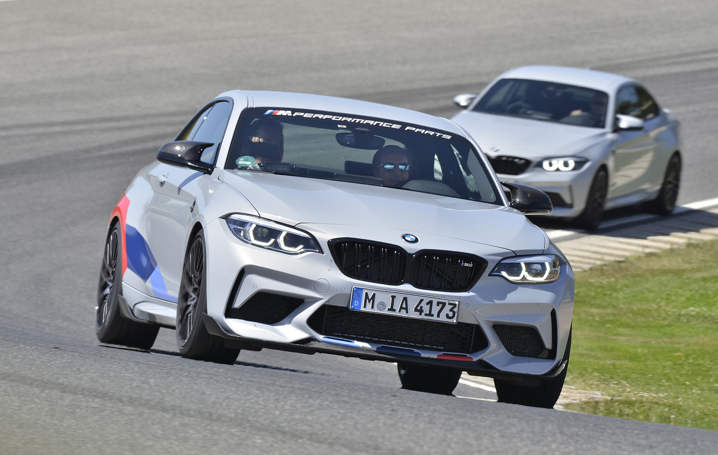 BMW M2 Competition - na torze