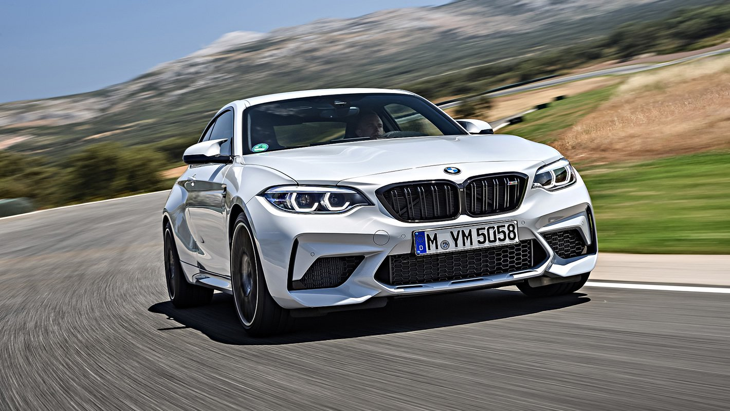 BMW M2 Competition - aerodynamika