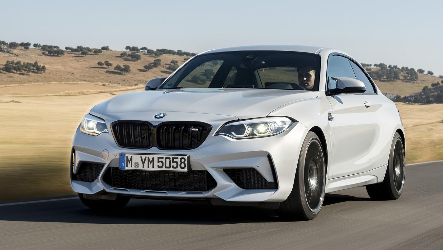 BMW M2 Competition - osiągi