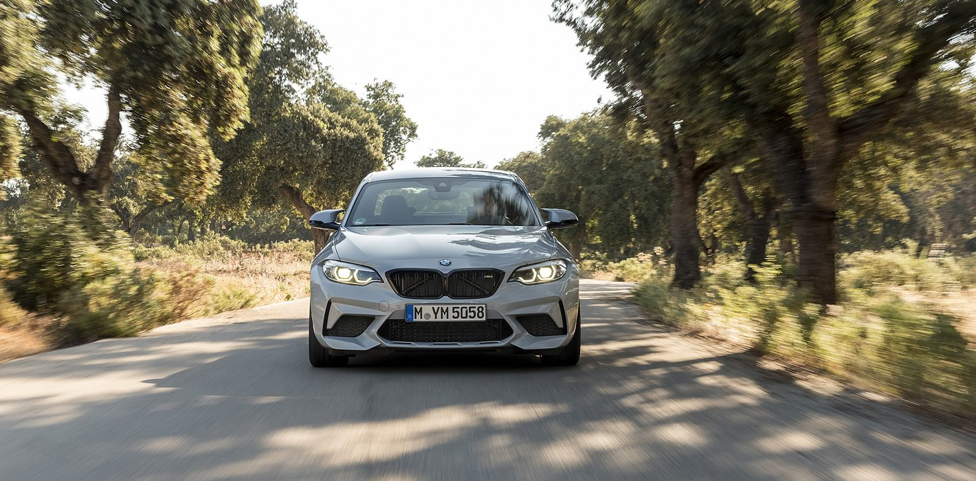 BMW M2 Competition - zwinne auto