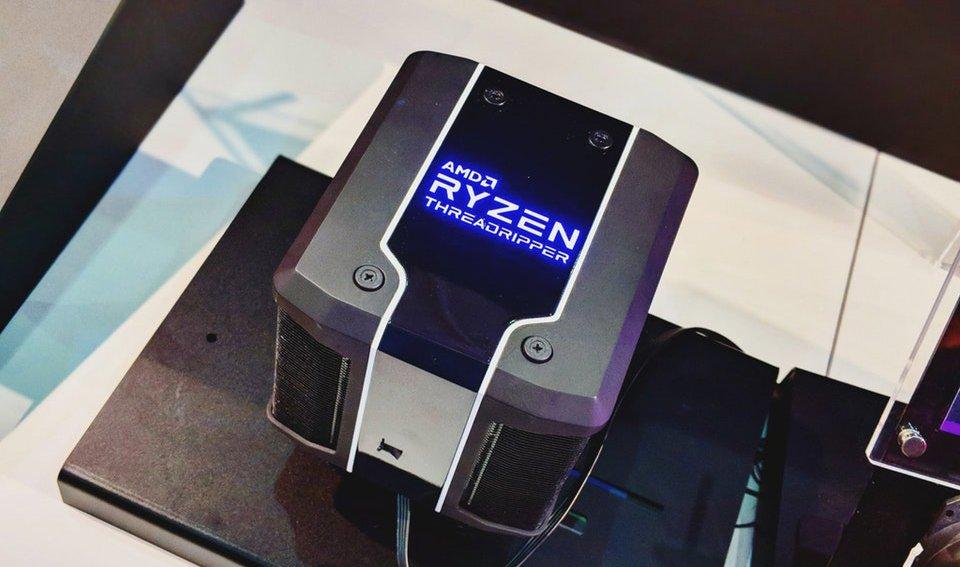 AMD Wraith Ripper chłodzenie Threadrippera