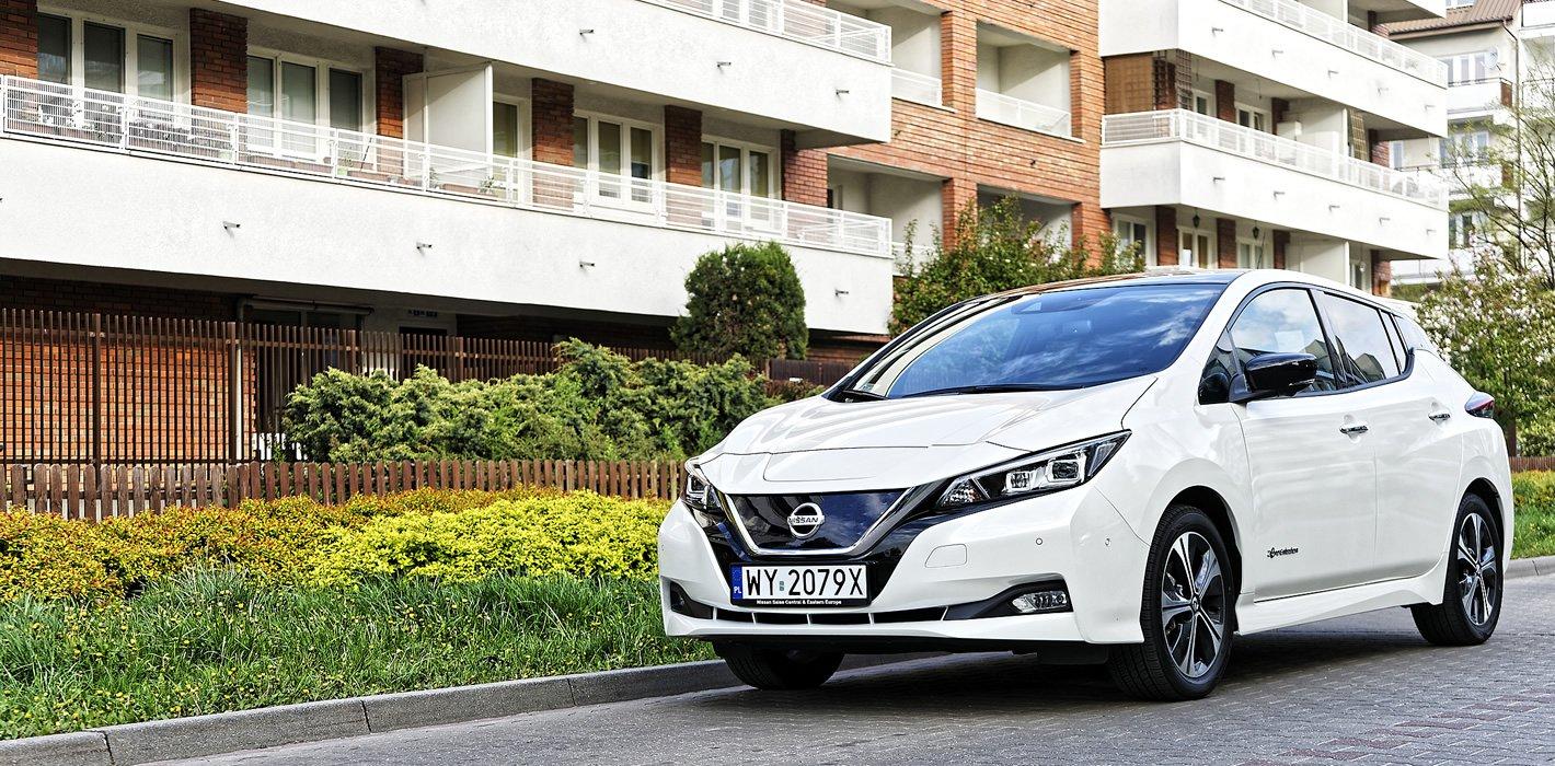 Nissan Leaf II - zawieszenie
