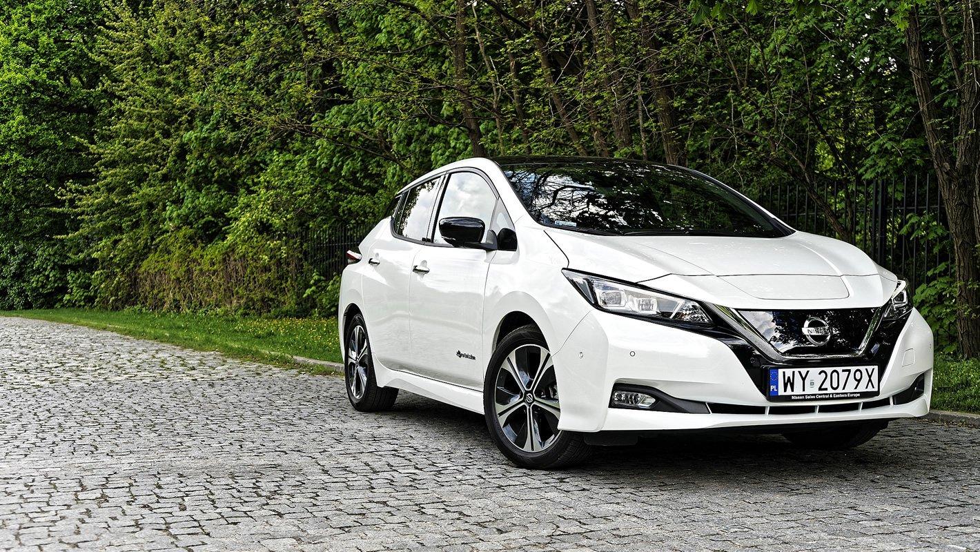 Nissan Leaf II - systemy bezpieczeństwa