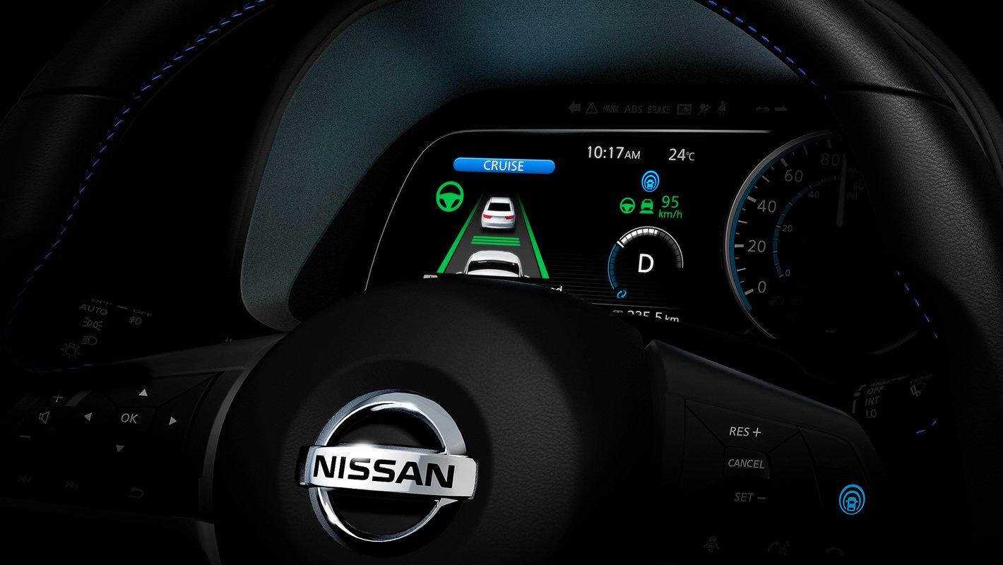 Nissan Leaf II - system ProPilot