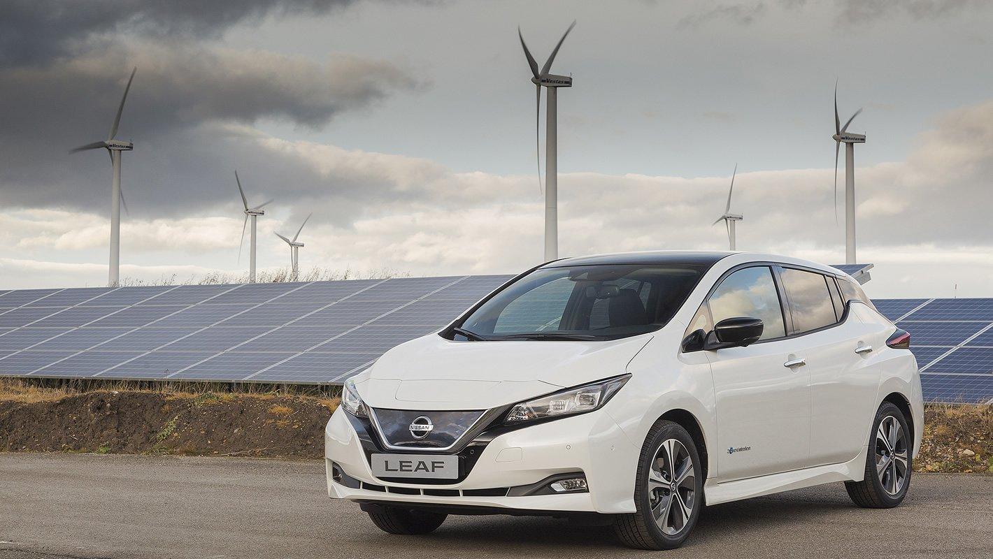 Nissan Leaf II - samochód elektryczny