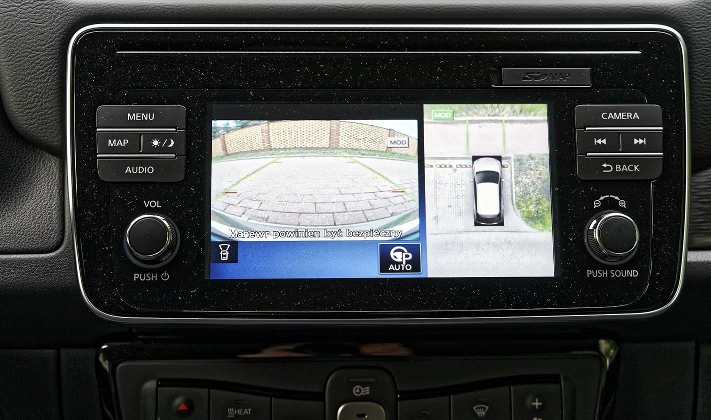 Nissan Leaf II - kamera 360 stopni
