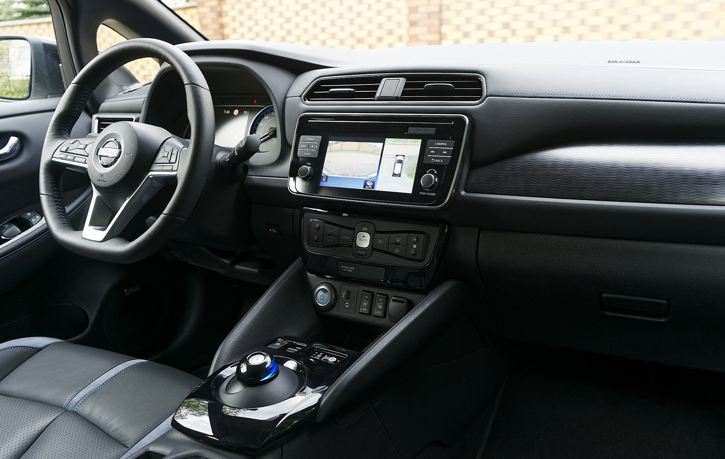 Nissan Leaf II - wnętrze