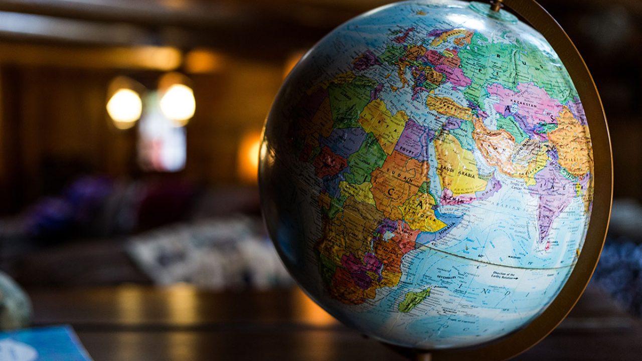 ancient earth globe