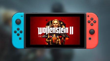 wolfenstein II na Nintendo Switch