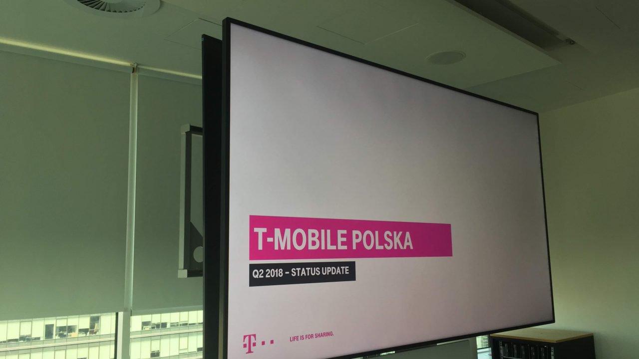 wyniki T-Mobile za II kwartał 2018