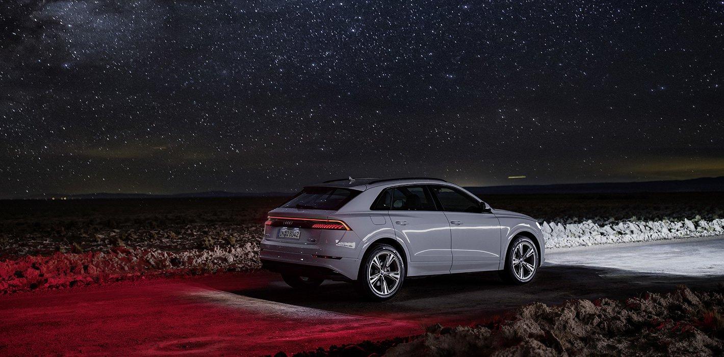 Audi Q8 - przewaga dzięki technice